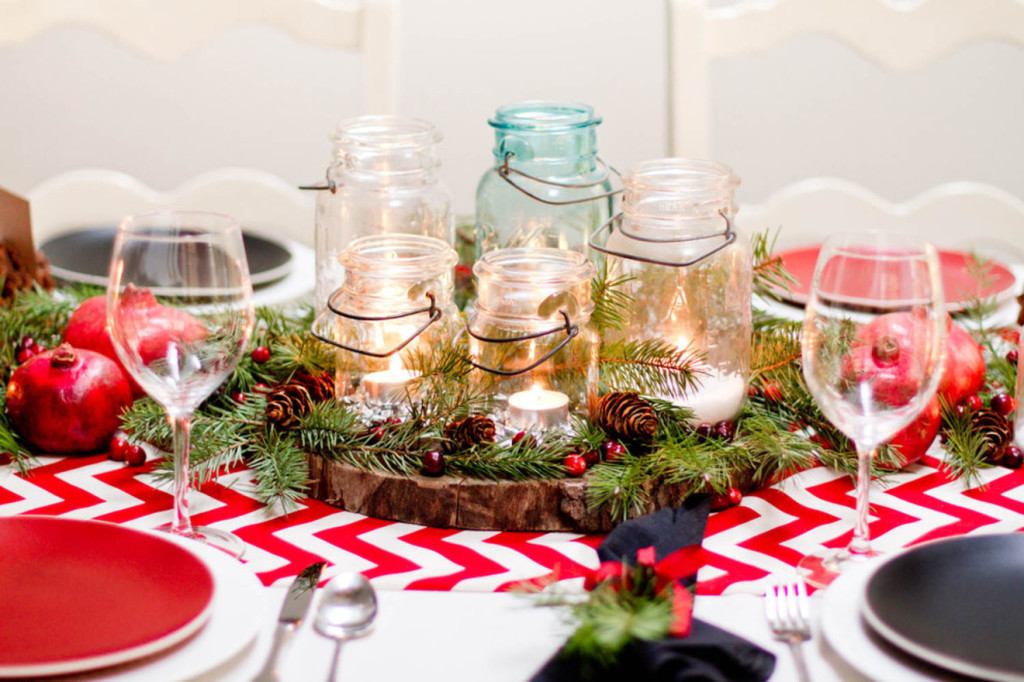 christmas decoration for your small table