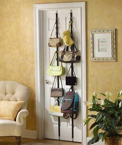 Door Bag Storage Idea