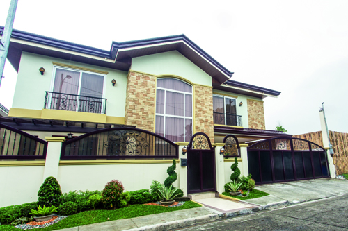 Daniel Padilla's huge house