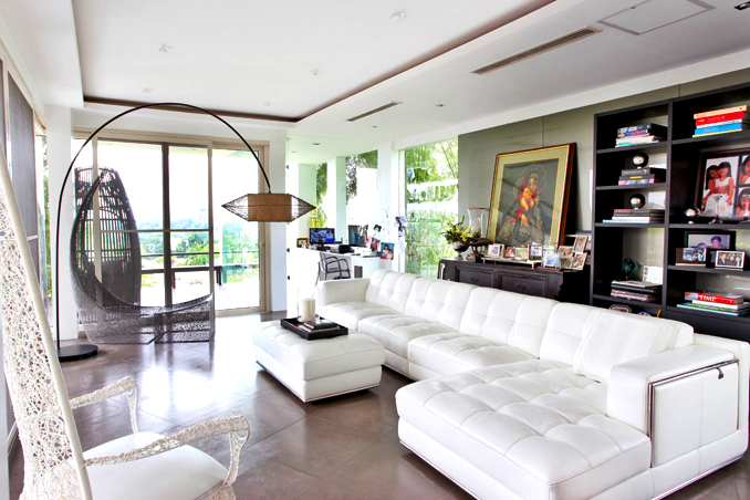 Ogie and Regine's stunning home