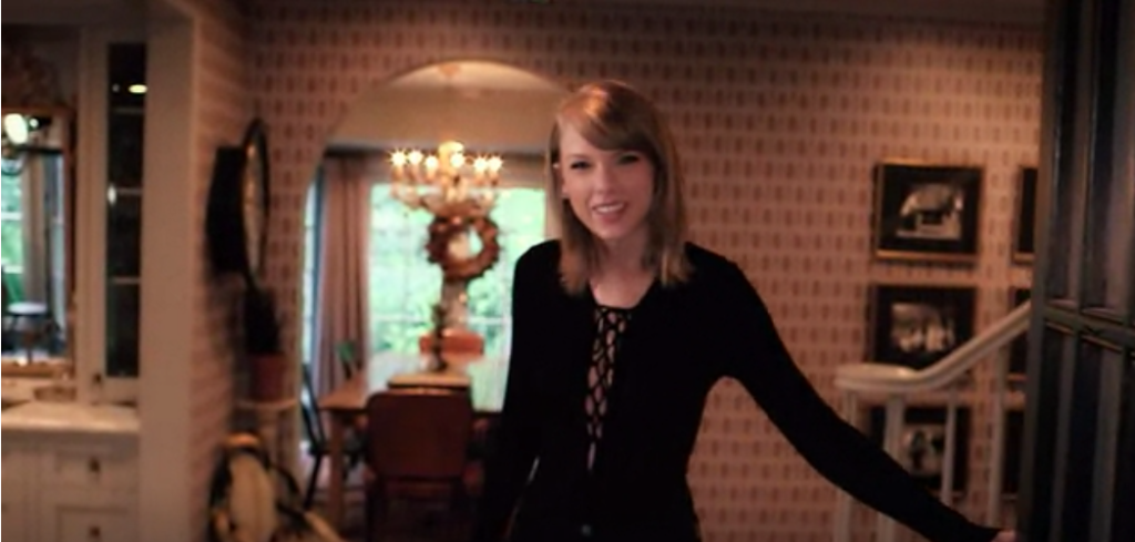 Taylor Swift's living room