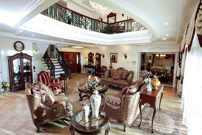 Filipino celebrity homes in philippines for Classic house design philippines