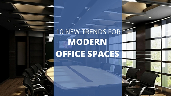 10 Modern Trends Modern Office Spaces Banner